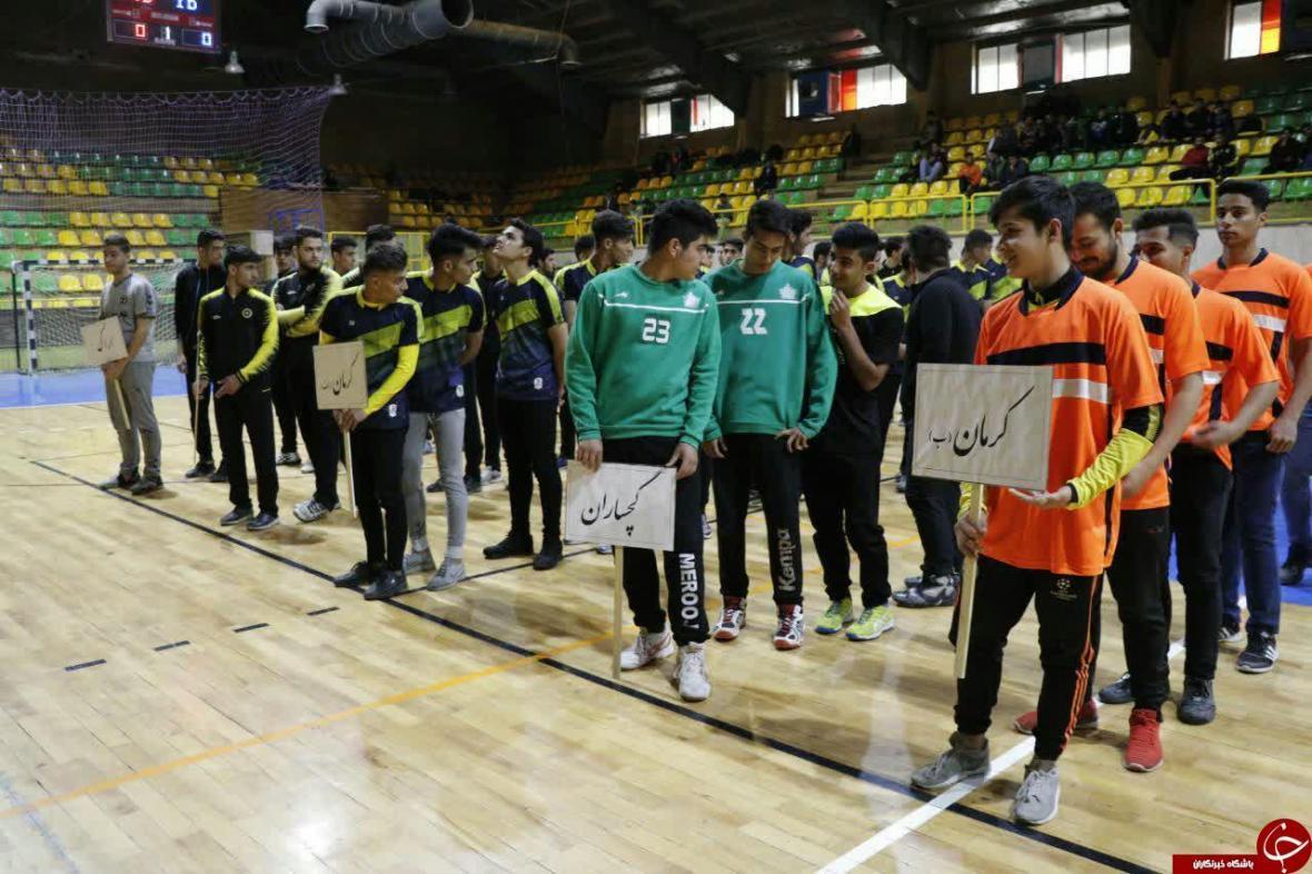 کرمان میزبان مسابقات هندبال قهرمانی جوانان منطقه جنوب کشور