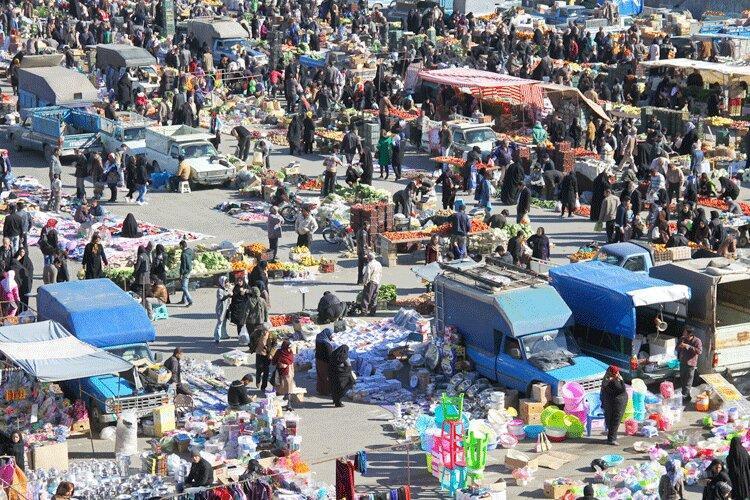 چالش مکان یابی چهارشنبه بازار گرگان