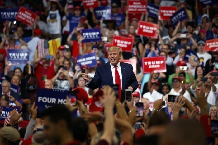 ترامپ در اولین تجمع انتخاباتی خود درباره ایران چه گفت؟