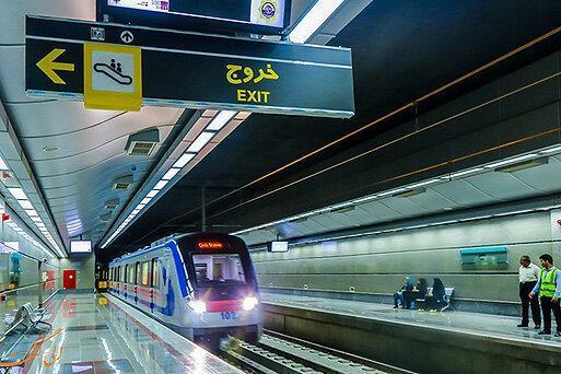 خط 10 مترو از نمایشگاه بین المللی می گذرد