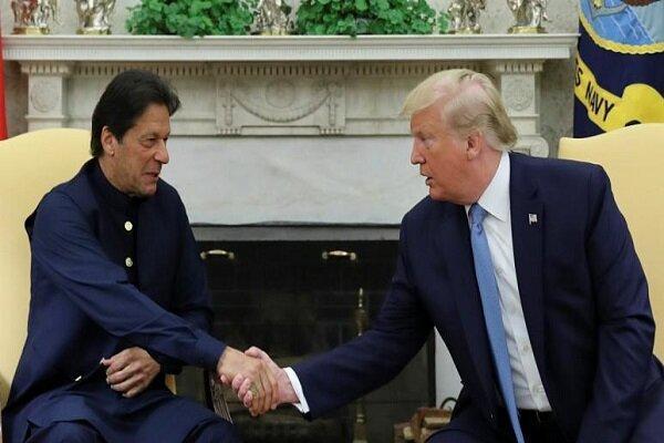 عمران خان: ترامپ در مسئله کشمیر میانجیگری کند